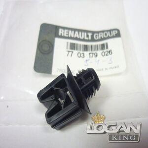 Фиксатор топливных трубок (сетки багажника) Renault оригинал (Франция), аналог 7703179026, для Рено Логан / Сандеро