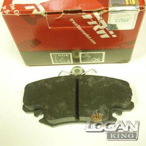 Колодки тормозные передние, комплект (4шт.) (410602192R) TRW (Англия), аналог 7711130071, для Рено Логан / Сандеро