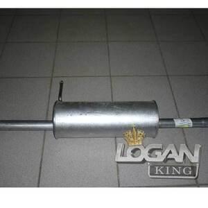 Глушитель основной Asso (Италия), аналог 6001547676, для Рено Логан / Сандеро