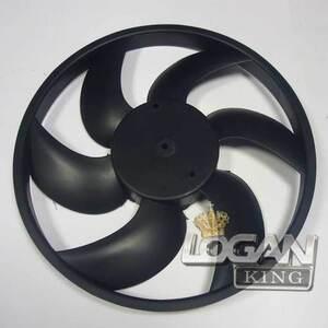 Крыльчатка вентилятора охлаждения радиатора без конд. Hi-Way-Drive (Тайвань), для Рено Логан / Сандеро