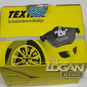 Колодки тормозные передние, комплект (4шт.) (410602192R) Textar (Германия), аналог 7711130071, для Рено Логан / Сандеро