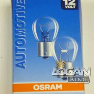 Лампа одноконтактная 12V 21W Osram (Германия), для Рено Логан / Сандеро