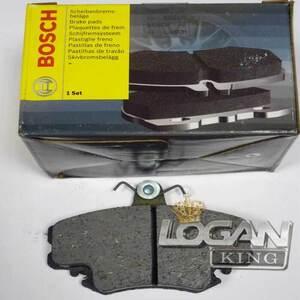 Колодки тормозные передние, комплект (4шт.) (410602192R) Bosch (Германия), аналог 7711130071, для Рено Логан / Сандеро
