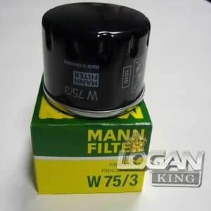 Фильтр масляный Мann (Германия), аналог 7700274177, для Рено Логан / Сандеро