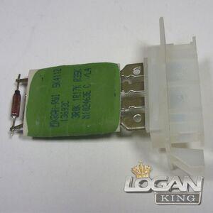 Резистор отопителя (оригинал) 509898 Valeo (Франция), аналог 6001547488, для Рено Логан / Сандеро