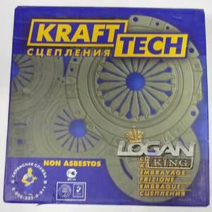 Сцепление в сборе 1,6 Krafttech (Турция), аналог 6001548020, для Рено Логан / Сандеро