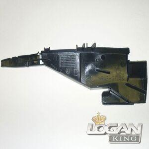 Щиток защитный КПП (пыльник, пластик) Renault оригинал (Франция), аналог 321079831R, для Рено Логан / Сандеро