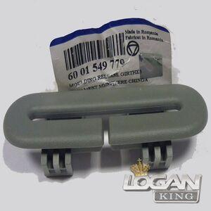Накладка пластмассовая ремня безопасности задняя Renault оригинал (Франция), аналог 6001549779, для Рено Логан / Сандеро