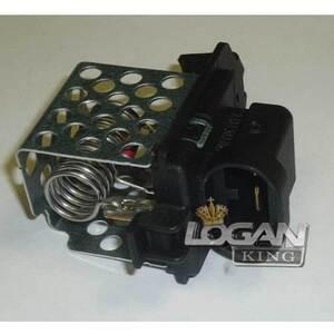 Резистор вентилятора радиатора с кондиционером (с 2008 г) Renault оригинал (Франция), аналог 8200538452, для Рено Логан / Сандеро