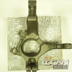 Кулак поворотный правый Renault оригинал (Франция), аналог 6001548867, для Рено Логан / Сандеро