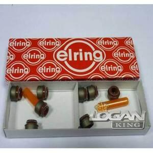 Колпачки маслосъемные к-т Elring (Германия), аналог 7700736465, для Рено Логан / Сандеро