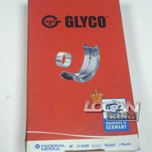 Вкладыши шатунные (0,25), комплект (с замком) Glyco (Бельгия), для Рено Логан / Сандеро