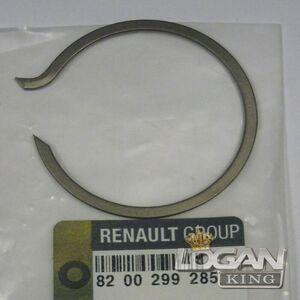 Кольцо стопорное подшипника первичного вала Renault оригинал (Франция), аналог 8200299285, для Рено Логан / Сандеро