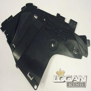 Защита двигателя левая фаза 2 (пластик) Asam-sa (Румыния), аналог 6001549324, для Рено Логан / Сандеро