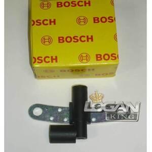 Датчик положения коленвала (до 2007 г.в.) 8V Bosch (Германия), аналог 8200396919, для Рено Логан / Сандеро