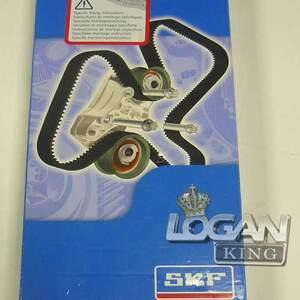 Комплект ГРМ (ремень+ролик) до 2010 года SKF (Швеция), аналог 7701477024, для Рено Логан / Сандеро