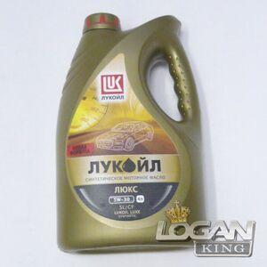 Масло Лукойл Genesis Armortech 5W40 SN/CF 1л. Лукойл (Россия), для Рено Логан / Сандеро