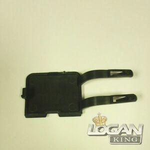 Заглушка буксировочного крюка переднего бампера (фаза 1) Polcar (Польша), аналог 6001546782, для Рено Логан / Сандеро