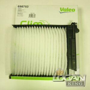 Фильтр салонный Valeo (Франция), аналог 272772835R, для Рено Логан / Сандеро