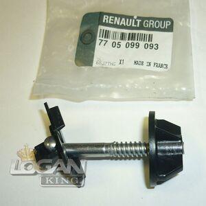 Фиксатор домкрата (болт) Renault оригинал (Франция), аналог 7705099093, для Рено Логан / Сандеро