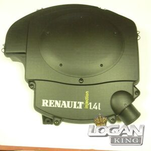 Корпус воздушного фильтра 1,4 Renault оригинал (Франция), аналог 8200861204, для Рено Логан / Сандеро