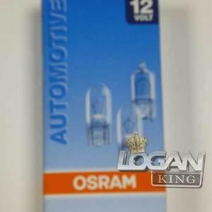 Лампа безцокольная (передние габариты) 12V 5W Osram (Германия), для Рено Логан / Сандеро