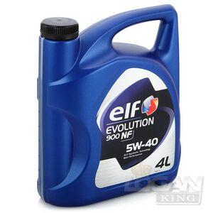 Масло моторное ELF EVOLUTION 900 NF 5W40 (4 л) синтетика ELF (Франция), для Рено Логан / Сандеро