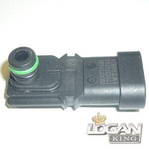 Датчик давления во впускном коллекторе Renault оригинал (Франция), аналог 8200719629, для Рено Логан / Сандеро