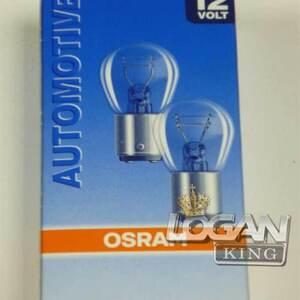 Лампа двухконтактная 12V 21/5W Osram (Германия), для Рено Логан / Сандеро