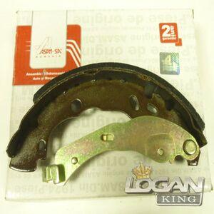 Колодки тормозные задние, комплект (4шт.)(система тормозов BOSCH) Asam-sa (Румыния), аналог 7701207178, для Рено Логан / Сандеро