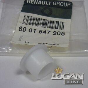 Втулка педaли сцепления (тормоза) Renault оригинал (Франция), аналог 6001547905, для Рено Логан / Сандеро