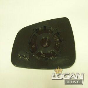Стекло зеркала с подогревом большое TYC (Тайвань), аналог 6001549717, для Рено Логан / Сандеро